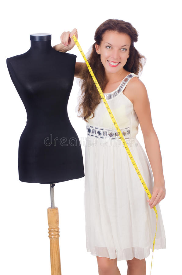 Download Young tailor stock photo. Image of adult, dummy, clothes - 34664930