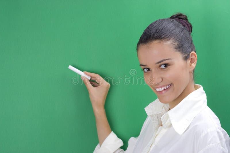 Young teacher royalty free stock photos