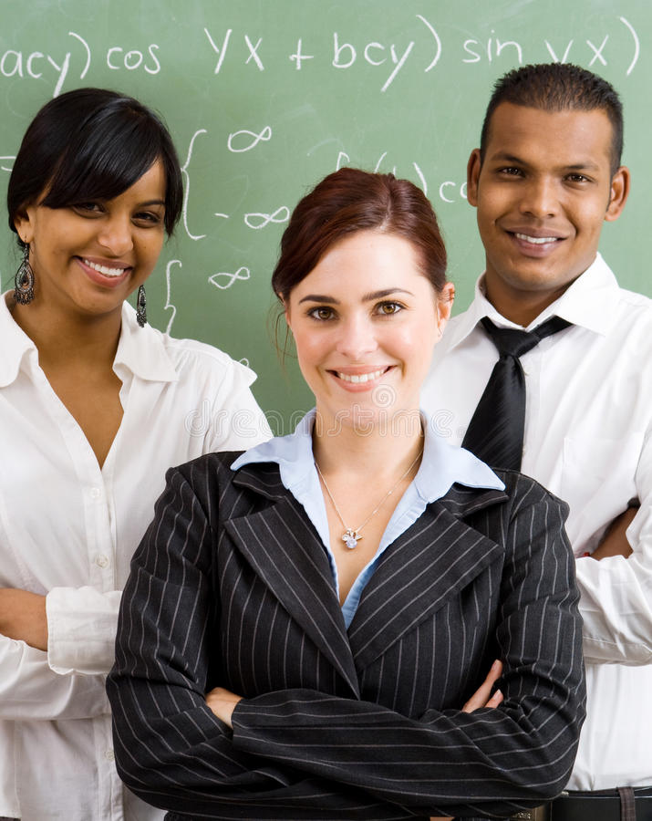 Free Young Teachers Royalty Free Stock Images - 9707919