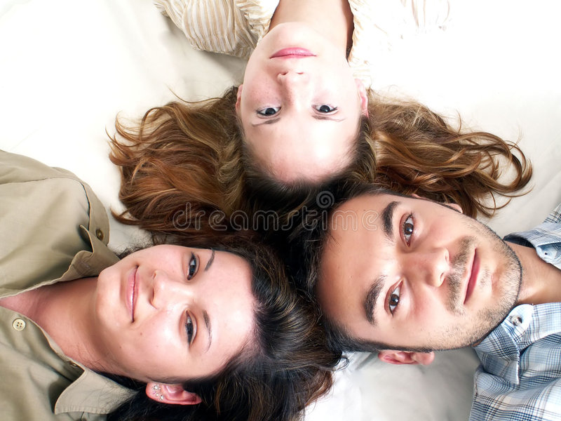 Young team royalty free stock photos