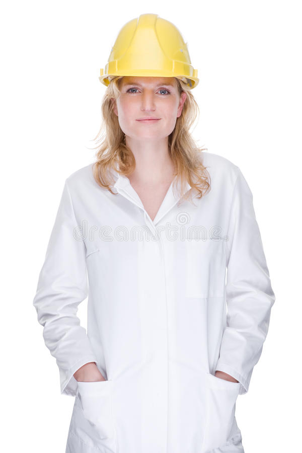 Young technician stock image