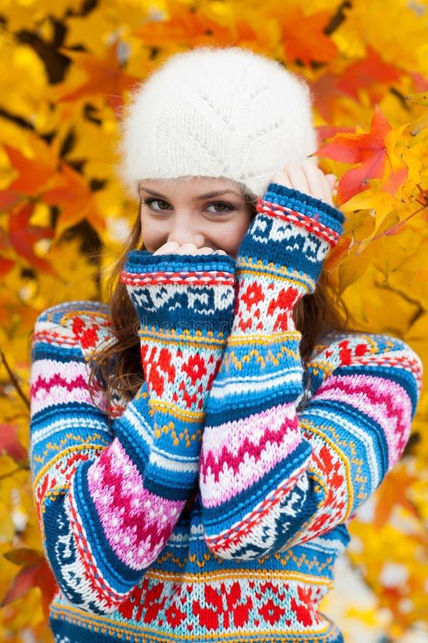 Young teen girl stock photo