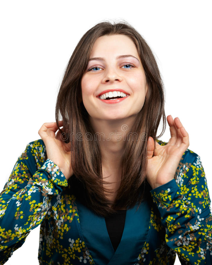 Download Young teen stock photo. Image of lady, happy, female - 31607842