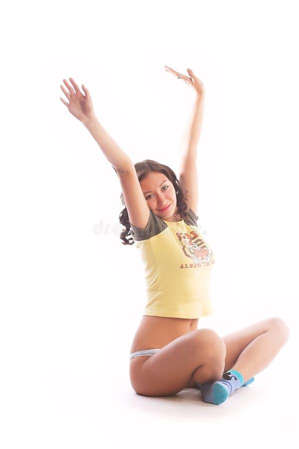 Download Young teenage girl stock photo. Image of beautiful, healthy - 2318976