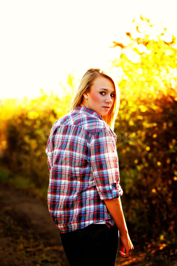 Download Young Teenager stock photo. Image of checked, standing - 22564572
