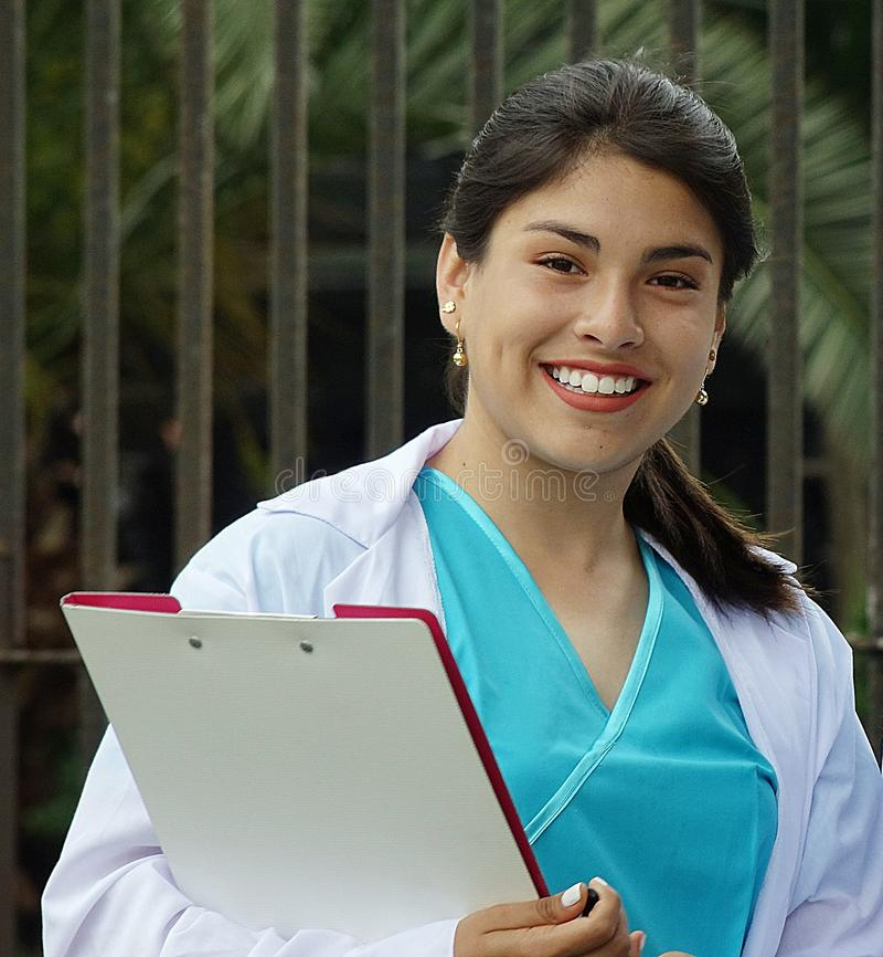 Young teen girl nurse — photo 13