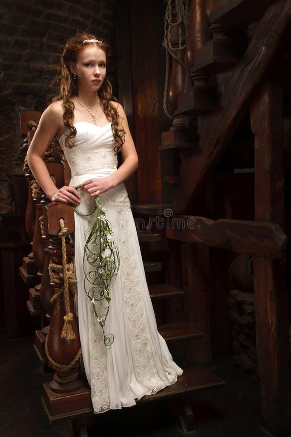 Young Tender Bride Stock Photos