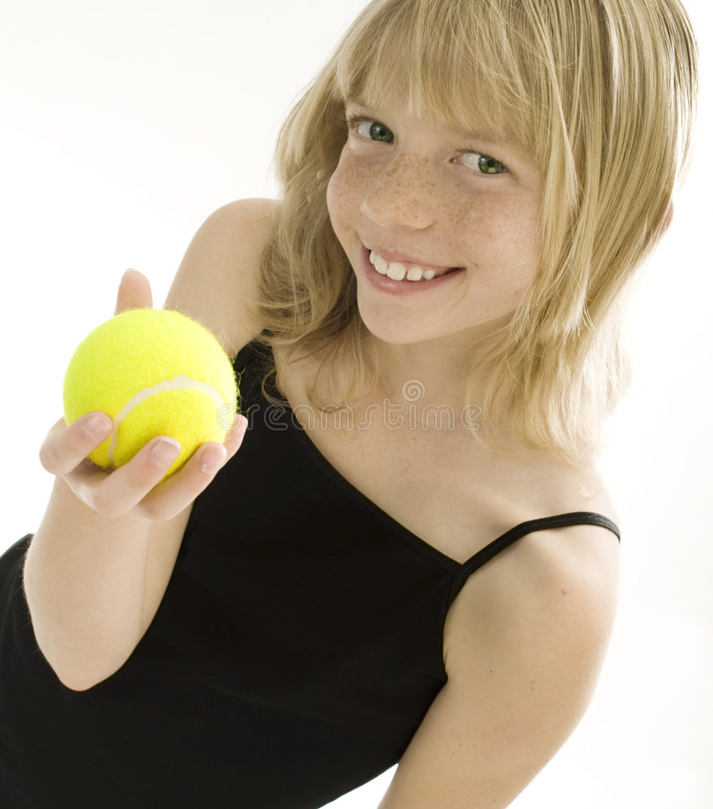 Download Young Tennis Player stock photo. Image of athletic, girl - 8224518