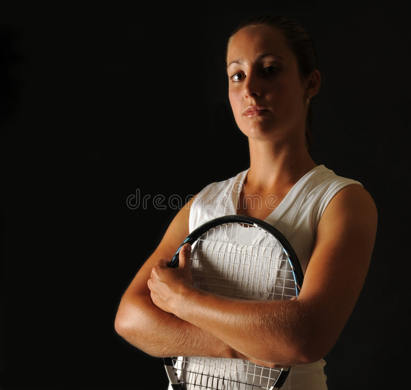 Download Young tennis pro stock photo. Image of strong, athlete - 5766818