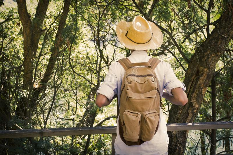 Young travel and adventure stock images