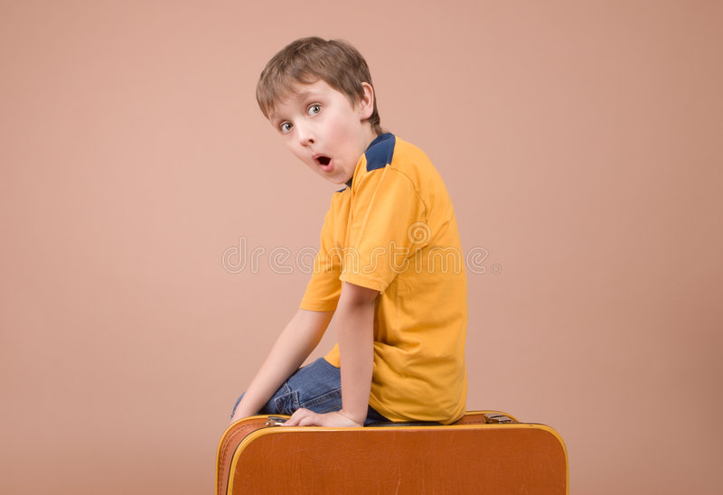 Young traveler royalty free stock images