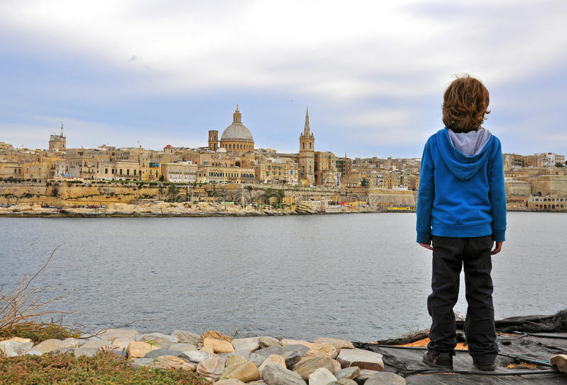 Download Young traveller stock photo. Image of tourism, valletta - 38409422