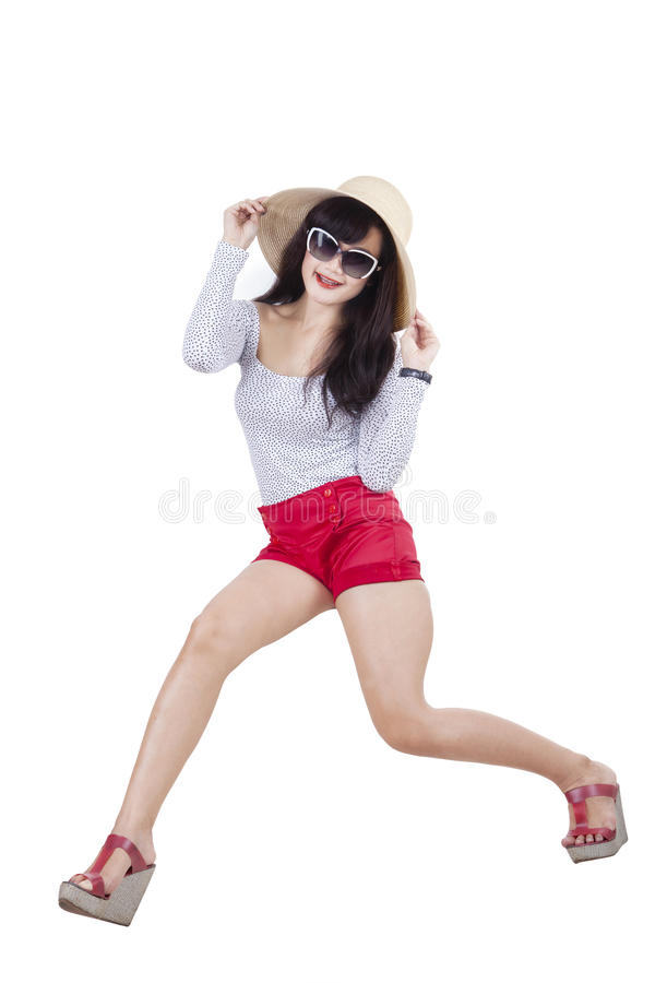 Download Young Trendy Attractive Woman Stock Photo - Image: 42232923