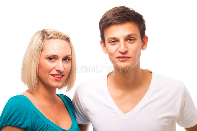 Young Trendy Couple Stock Photography