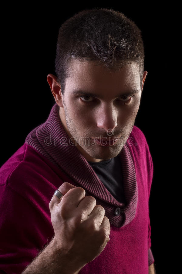 Download Young Urban Man With Mean Look Stock Photo - Image: 33198208