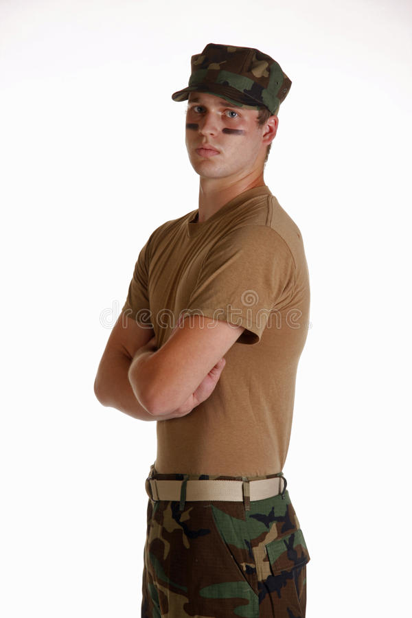 Young US Marine royalty free stock images