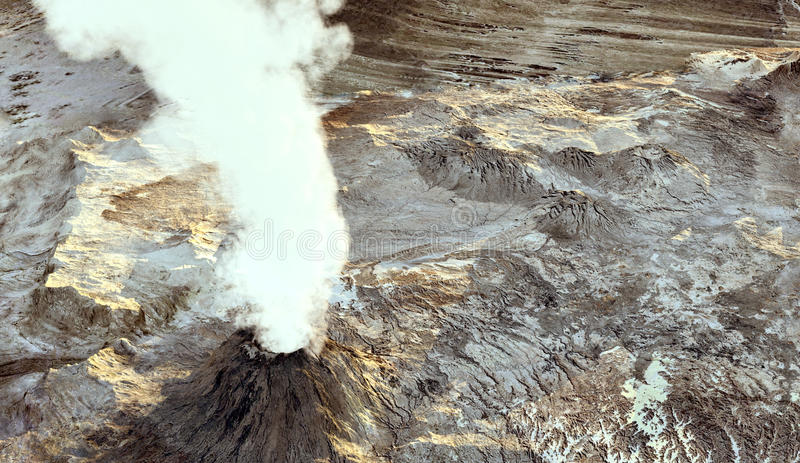 Download Young Volcano Royalty Free Stock Image - Image: 13872216