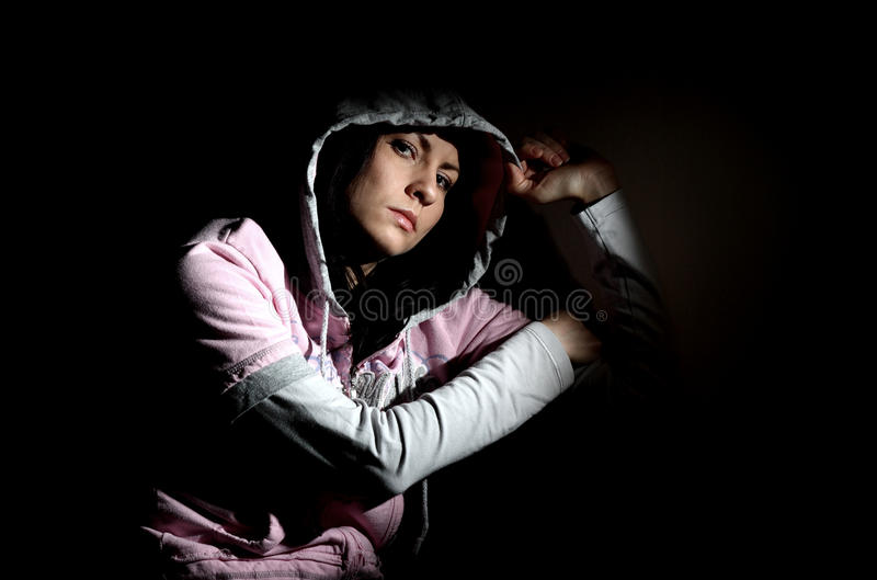 Download Girl In Hood Royalty Free Stock Photos - Image: 30245048