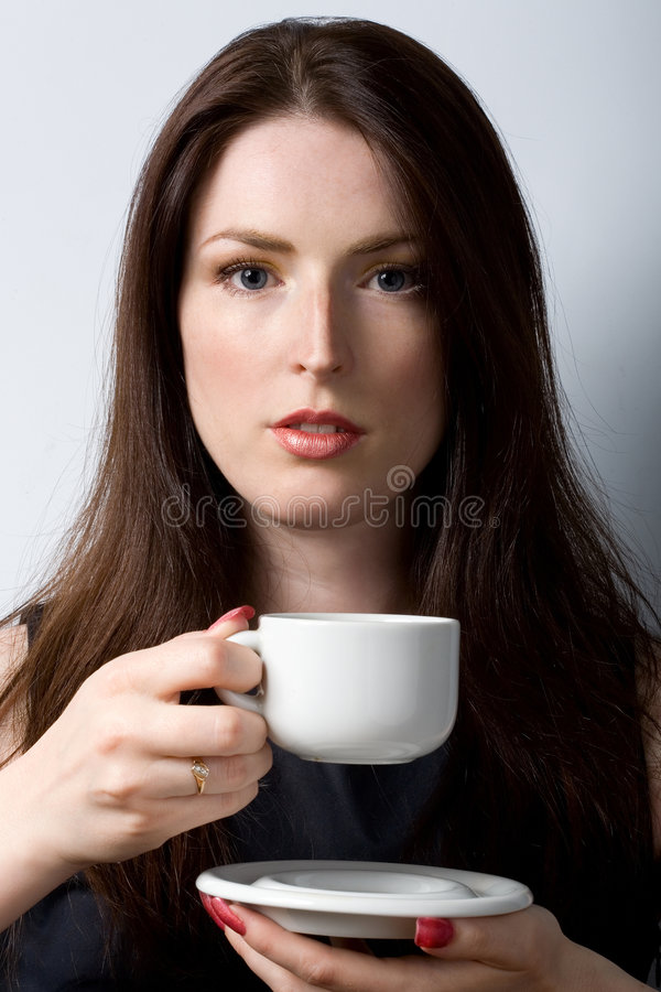 Free Young White With Cup Stock Photos - 2634623