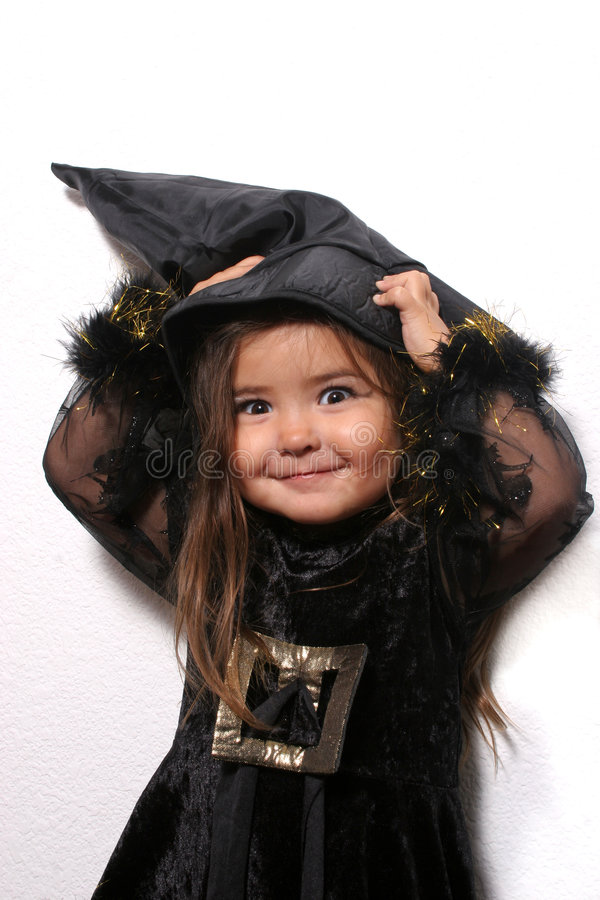 Download Young Witch stock image. Image of witch, costume, youth - 1455009
