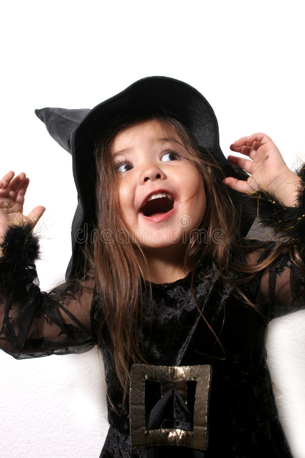 Young Witch Royalty Free Stock Images