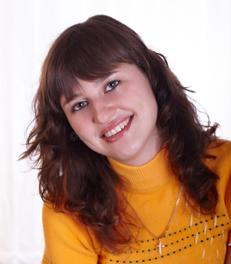 The young woman stock photos