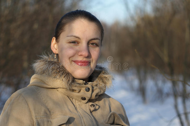 Download Young woman stock photo. Image of forward, person, hood - 13084510