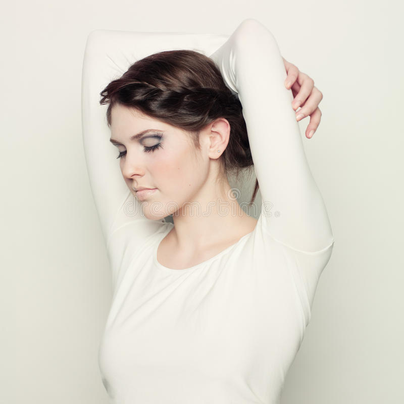 Young woman. stock photos