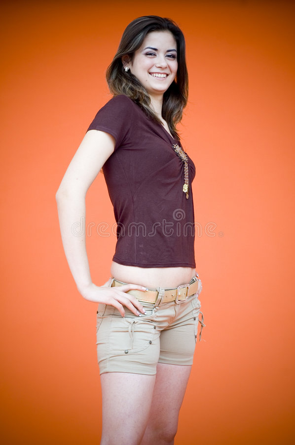 Young woman. stock images