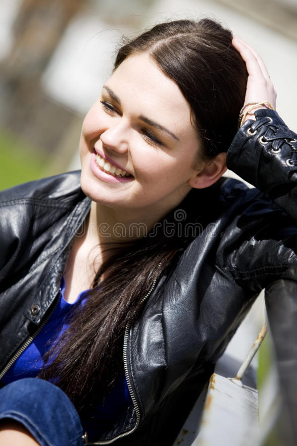 Download Young woman stock image. Image of enjoying, adult, natural - 19874455