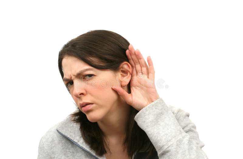 Download Young woman stock image. Image of annoy, expression, hearing - 2302453