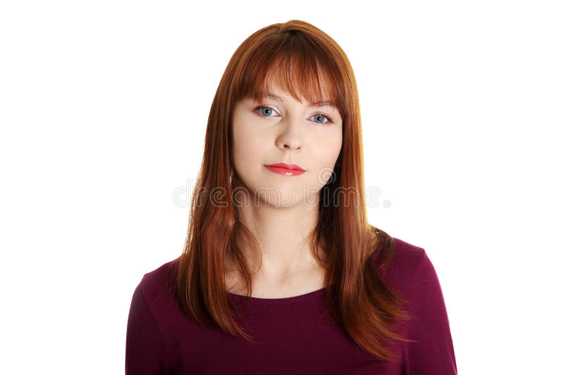 Download Young woman stock image. Image of chubby, expression - 24329525