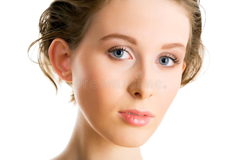Download Young woman stock image. Image of care, hair, head, look - 24588267