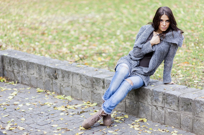 Download Young woman stock photo. Image of city, landscape, attractive - 27824532