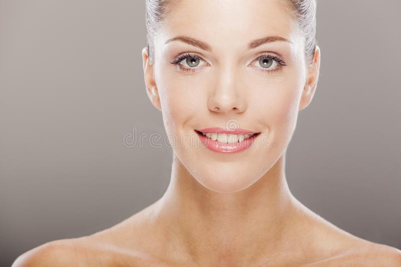 Download Young woman stock photo. Image of expression, makeup - 27965428