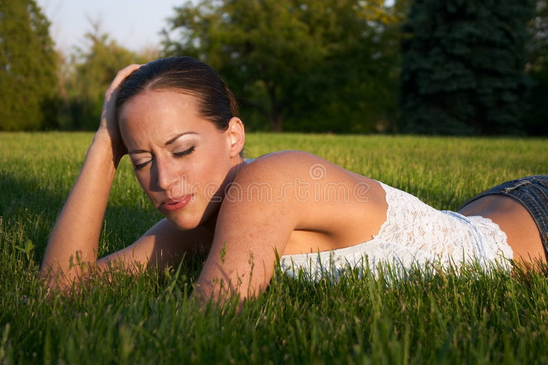 Young Woman 6 stock image
