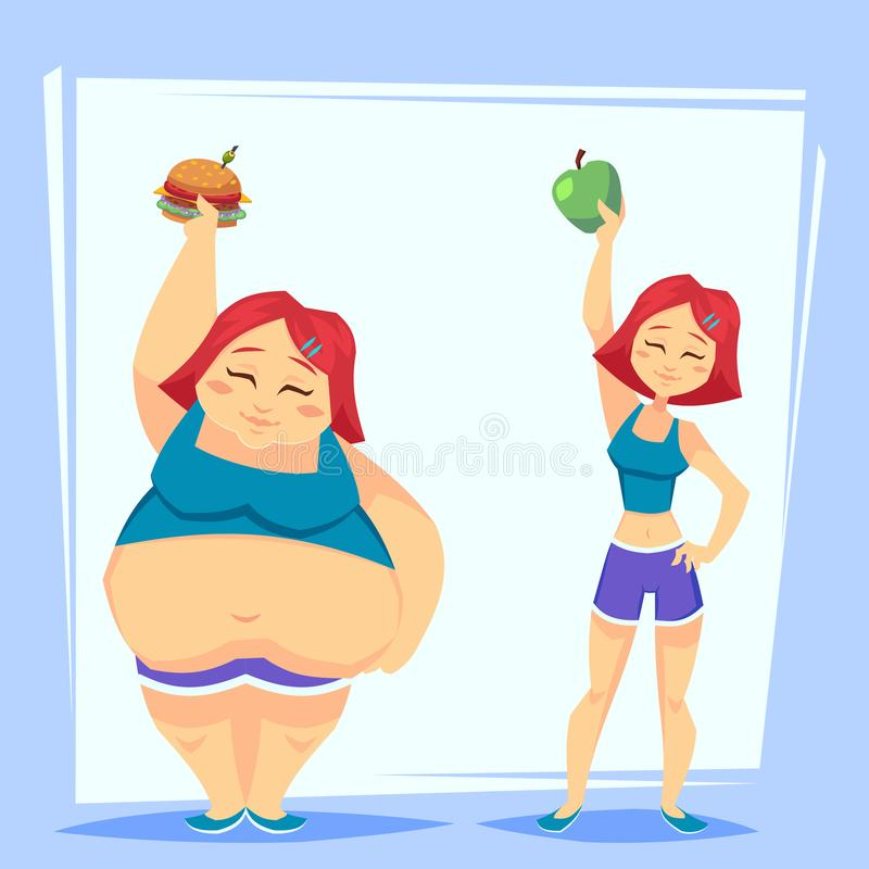 Weight Loss Cartoon Stock Illustrations 4 860 Weight Loss Cartoon Stock Illustrations Vectors Clipart Dreamstime