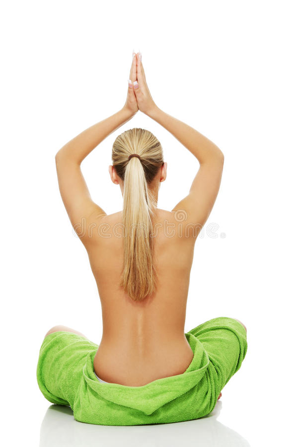Young Woman Befour Spa Stock Photography