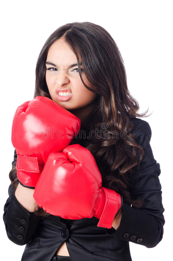 Download Young woman stock image. Image of boxer, competitor, executive - 29368343