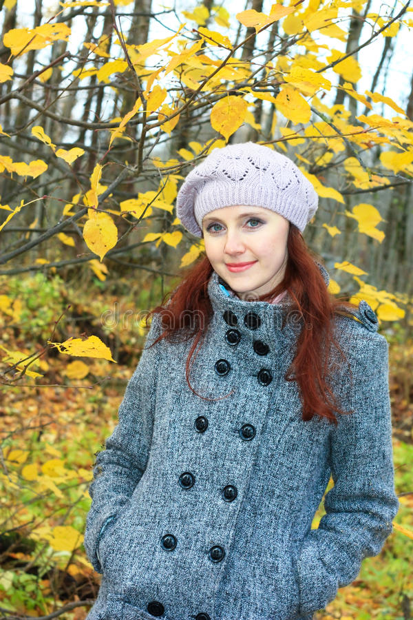 Download Young Woman In The Bright Autumn Colors Stock Image - Image: 27856029