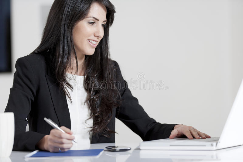 Download Young woman in business stock image. Image of smart, female - 25152099