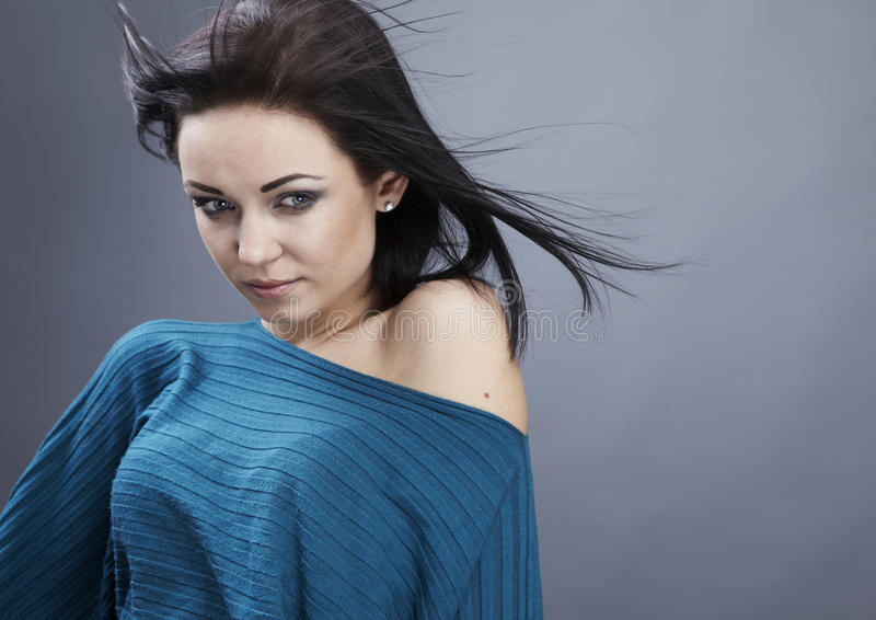 Download Young Woman Casual Portrait. Stock Photo - Image: 18018658