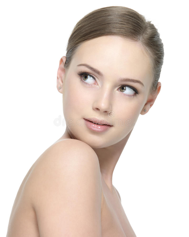 Download Young Woman With Clean Beauty Skin Stock Photo - Image: 22244992