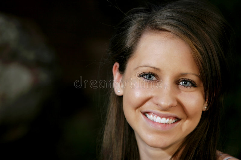 Young Woman Close-up stock images