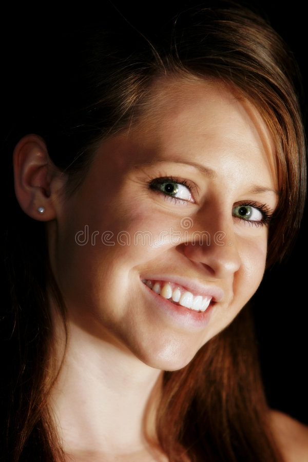 Young Woman Close-up royalty free stock photos