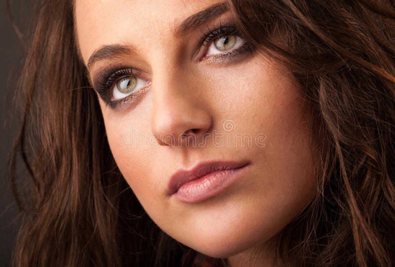 Download Young Woman Close Up Portrait Stock Images - Image: 28063204