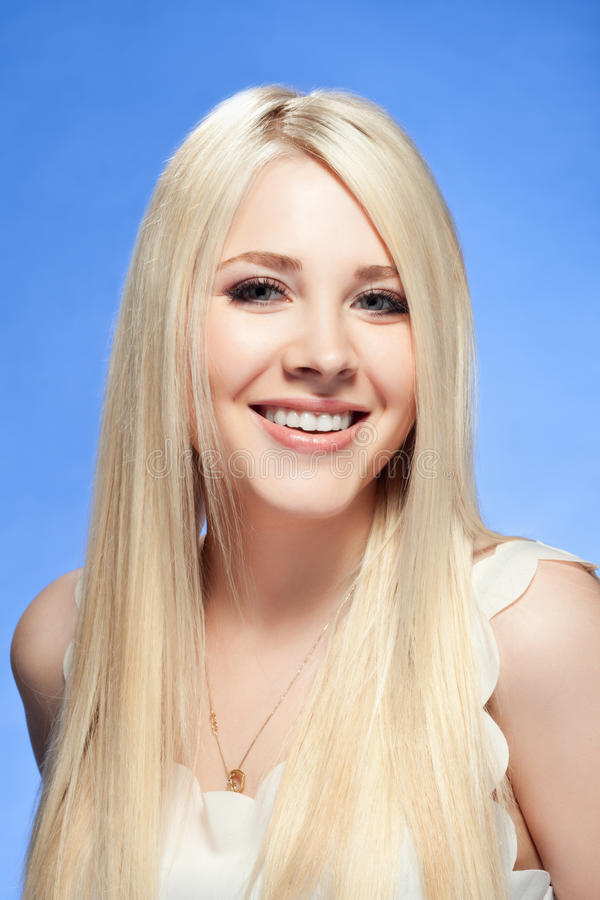 Young woman close up studio portrait royalty free stock photography