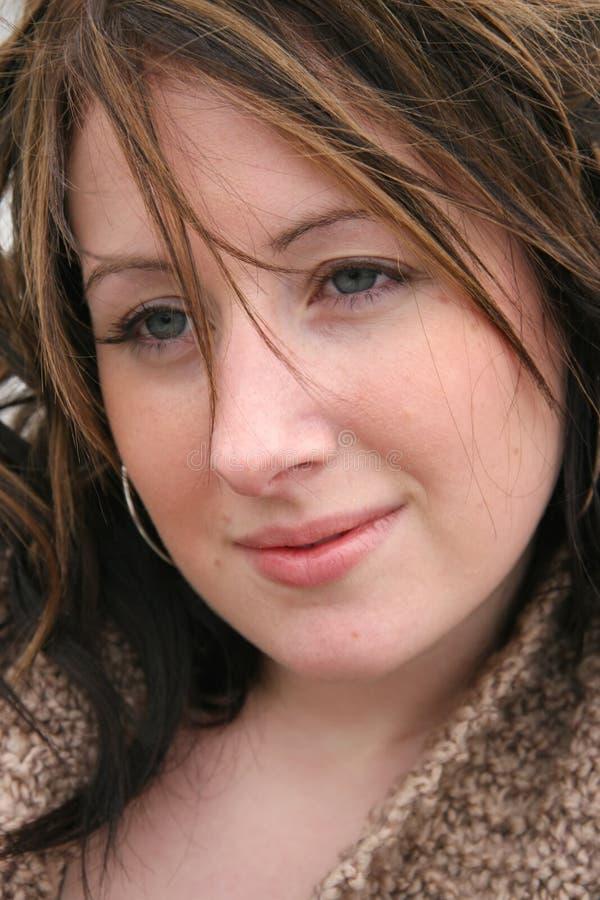 Young Woman Closeup royalty free stock photos