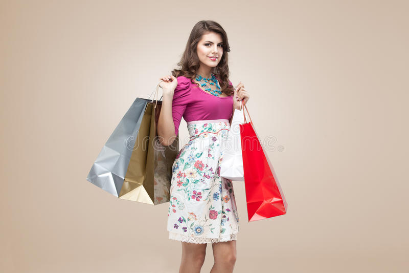 Download Young Woman In Colourful Outfit Stock Photo - Image: 18962676