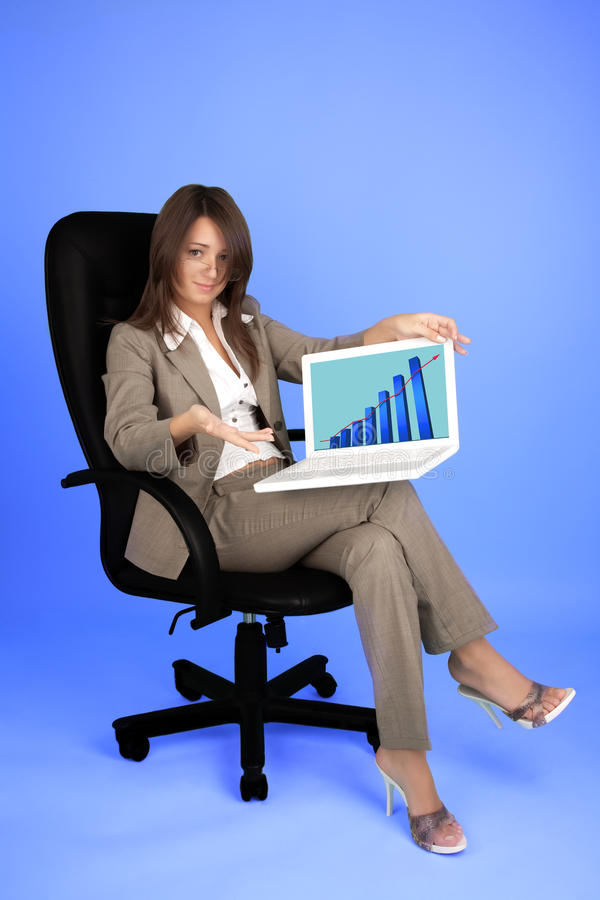 Download Young Businesswoman In Costume Stock Images - Image: 29703084